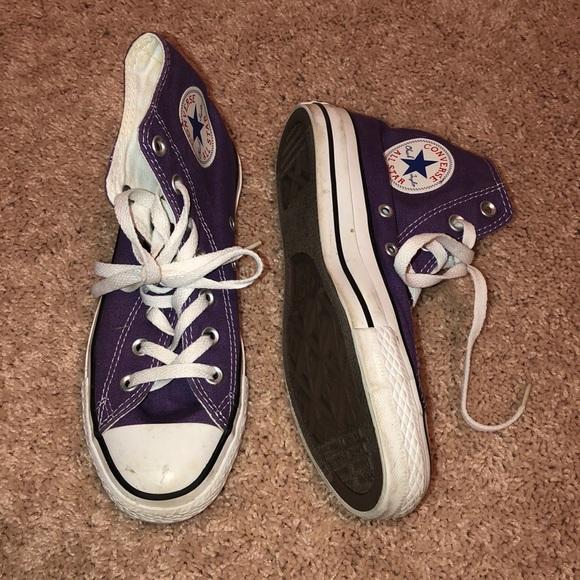 Converse Shoes - Purple Chuck Taylor Converse high top